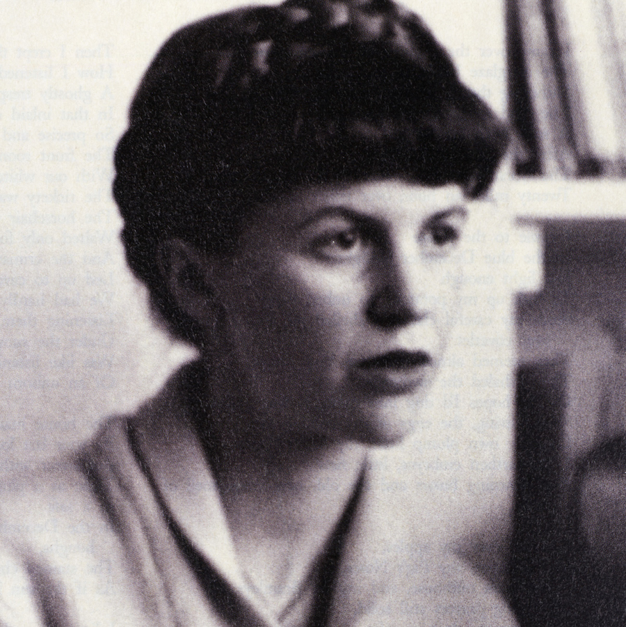 The American poet Sylvia Plath (1932-1963) in 1961. New York Public LIbrary Picture Collection.