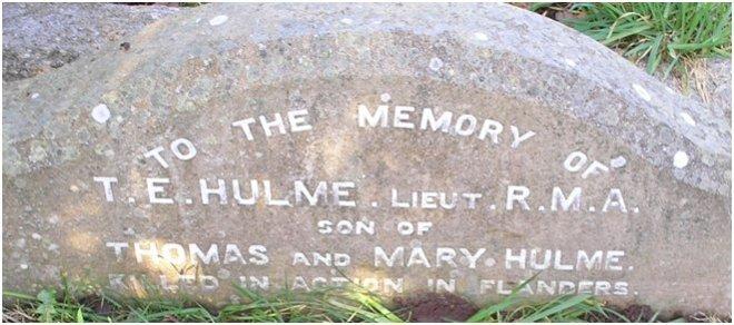 t_e_hulme_gravestone