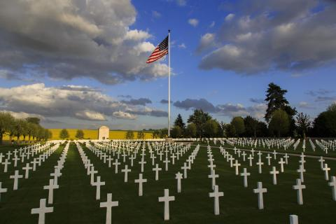 American cemetary Battle of Somme
