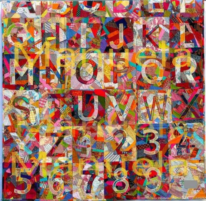 Jasper_Johns-Order_and_Disorder