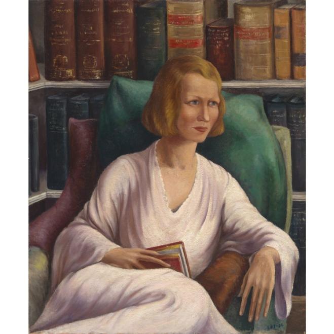 Millay portrait