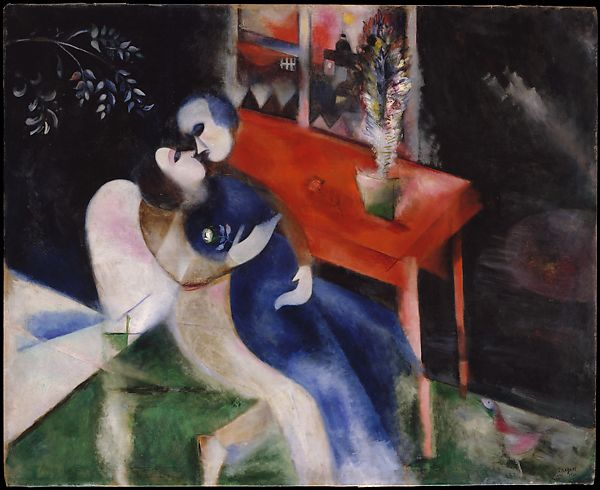 The Lovers Marc Chagal